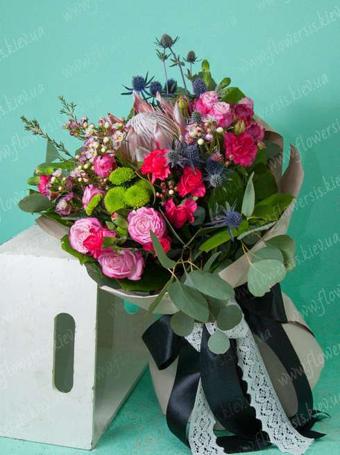 Buy a bouquet of flowers inexpensively in Kiev Ukraine, Order ...
