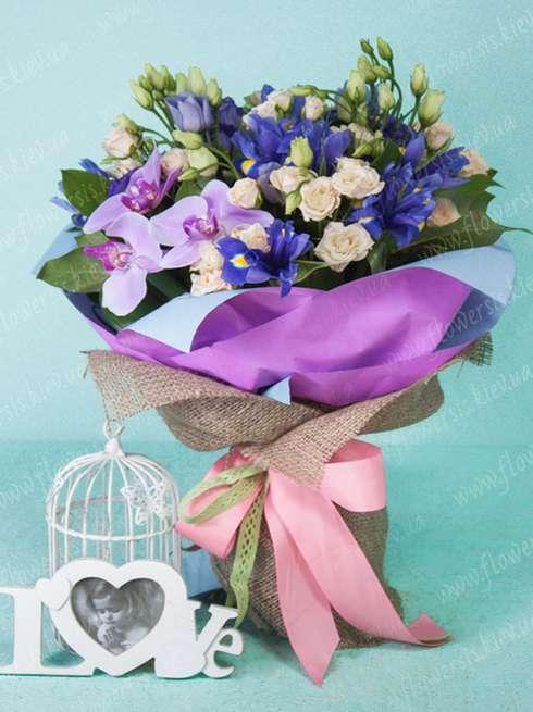 Flower delivery service Kiev Ukraine, Order a bouquet of orchids ...