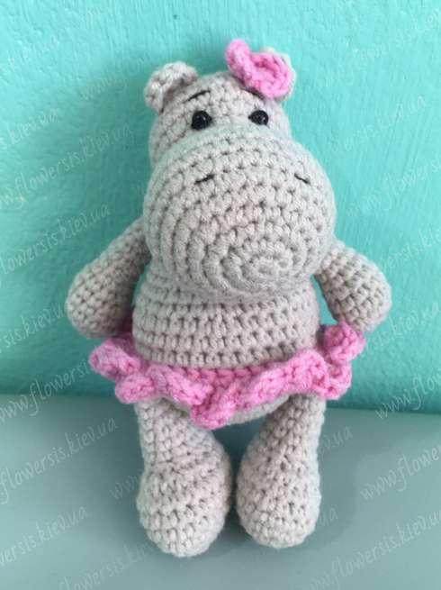 Ballerina Hippo - Amigurumi Pattern - Delicious Crochet   655x490